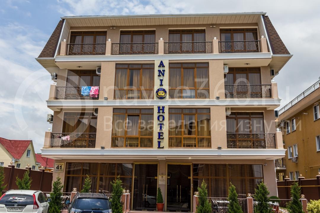 Фасад  гостиницы Ani в Сочи 2