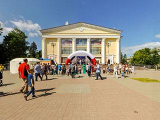 День города 2015, площадь Космонавтов