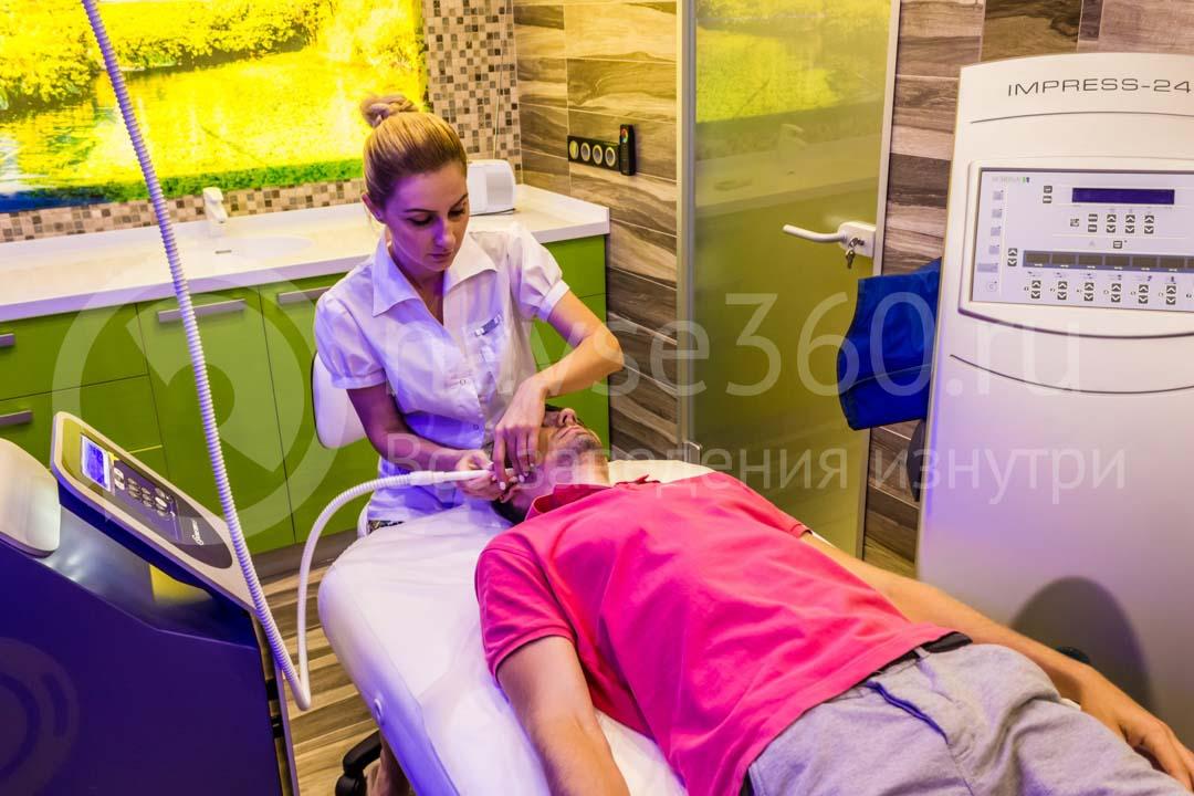 Косметологический кабинет Кабинет массажа в салоне Ambassador