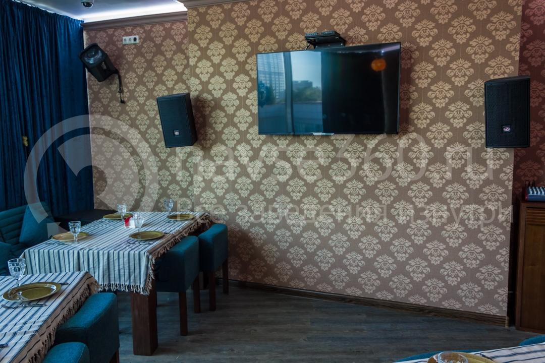 Вид внутри ресторана Торне, чайхана в Сочи 3