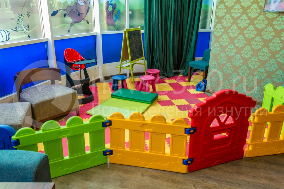 Игровая детская комната в ресторане Сочи