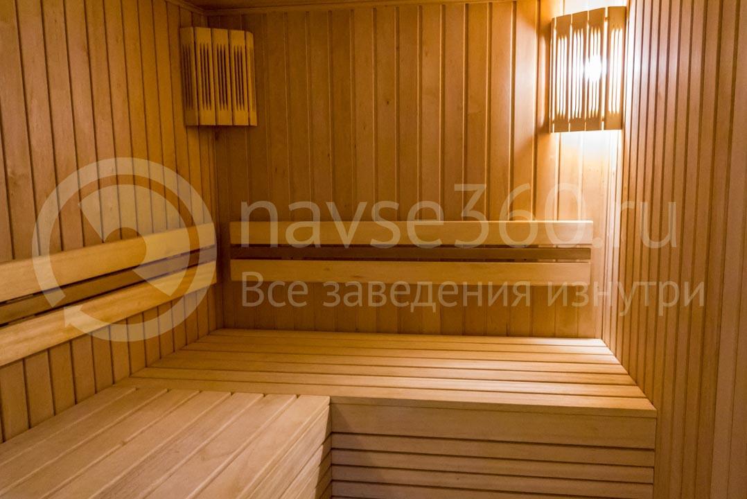 Сауна отеля Катюша в Сочи