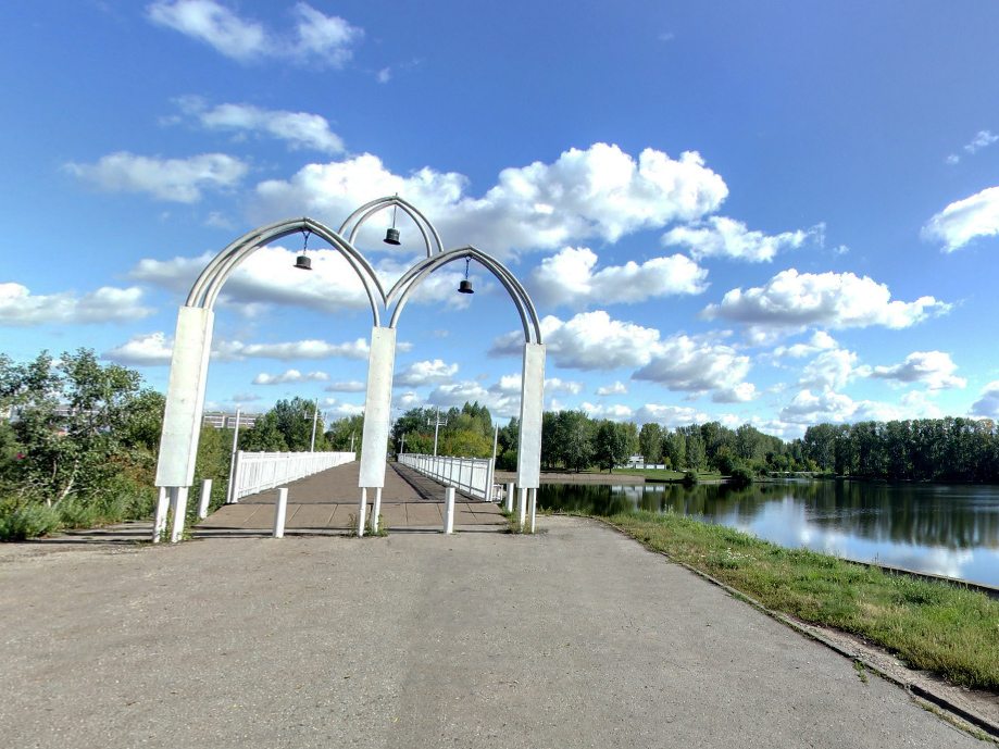 Колокольный мост.Санаторий Жемчужина