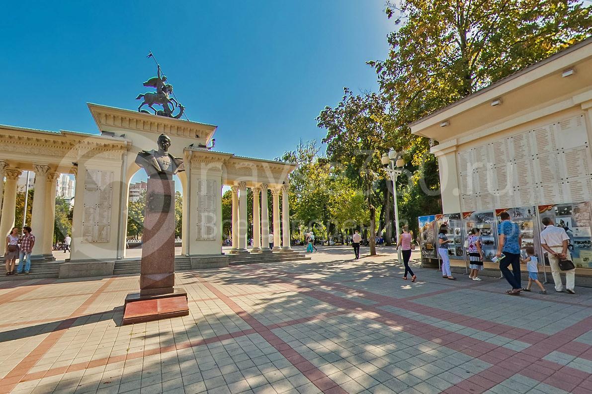 День города Краснодара 2015 г. Сквер имени Жукова
