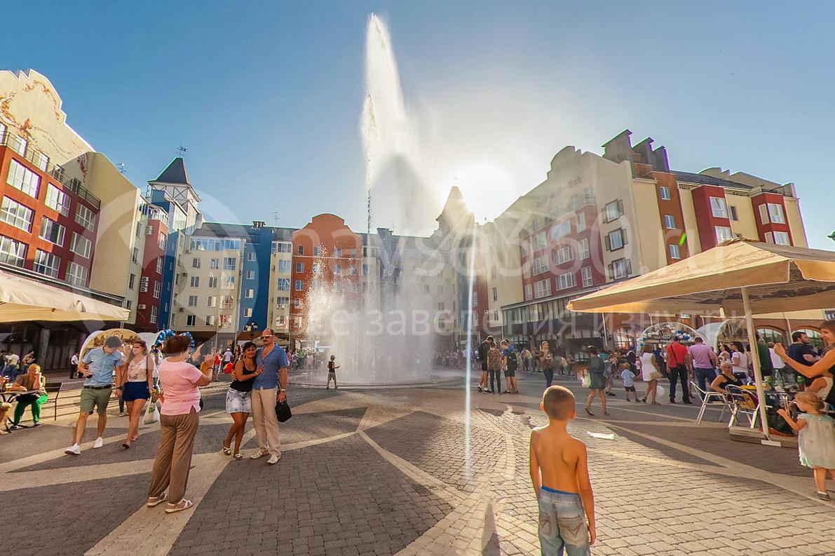Oktoberfest 2015, Краснодар, Немецкая деревня, поющий фонтан