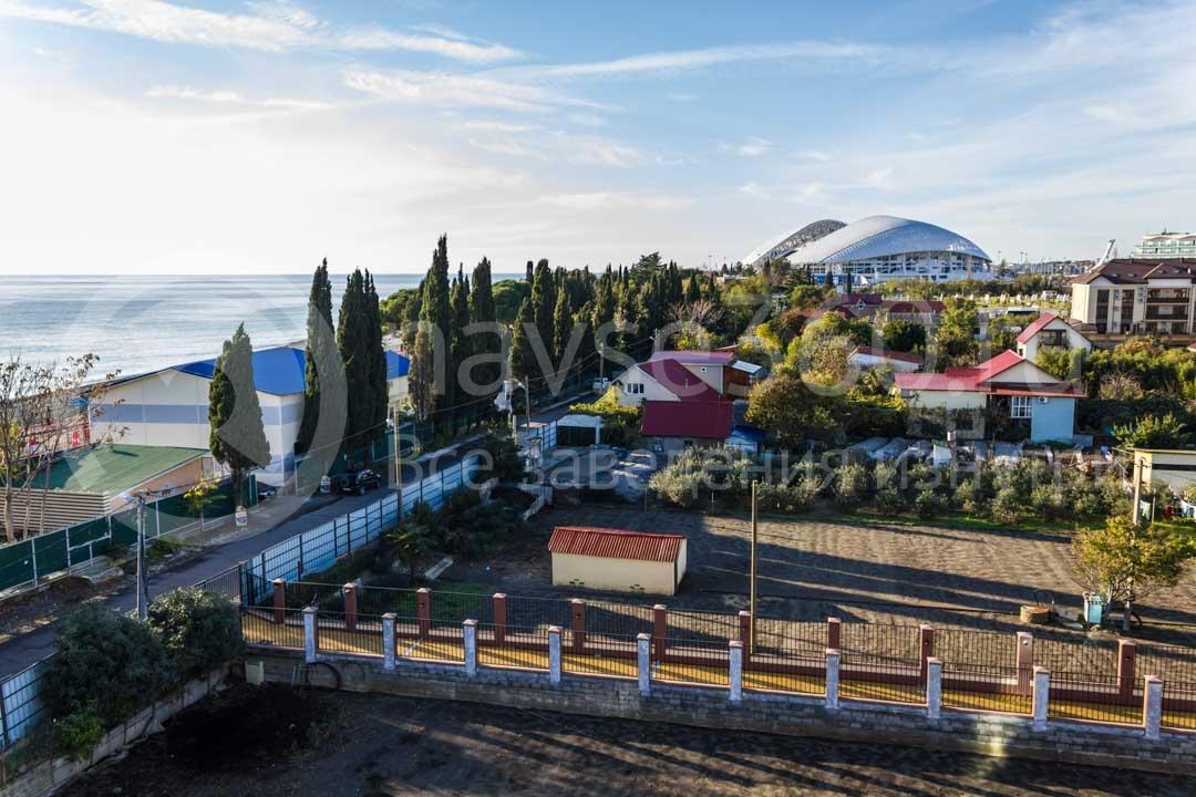 Вид из гостиницы Адмирал в Сочи