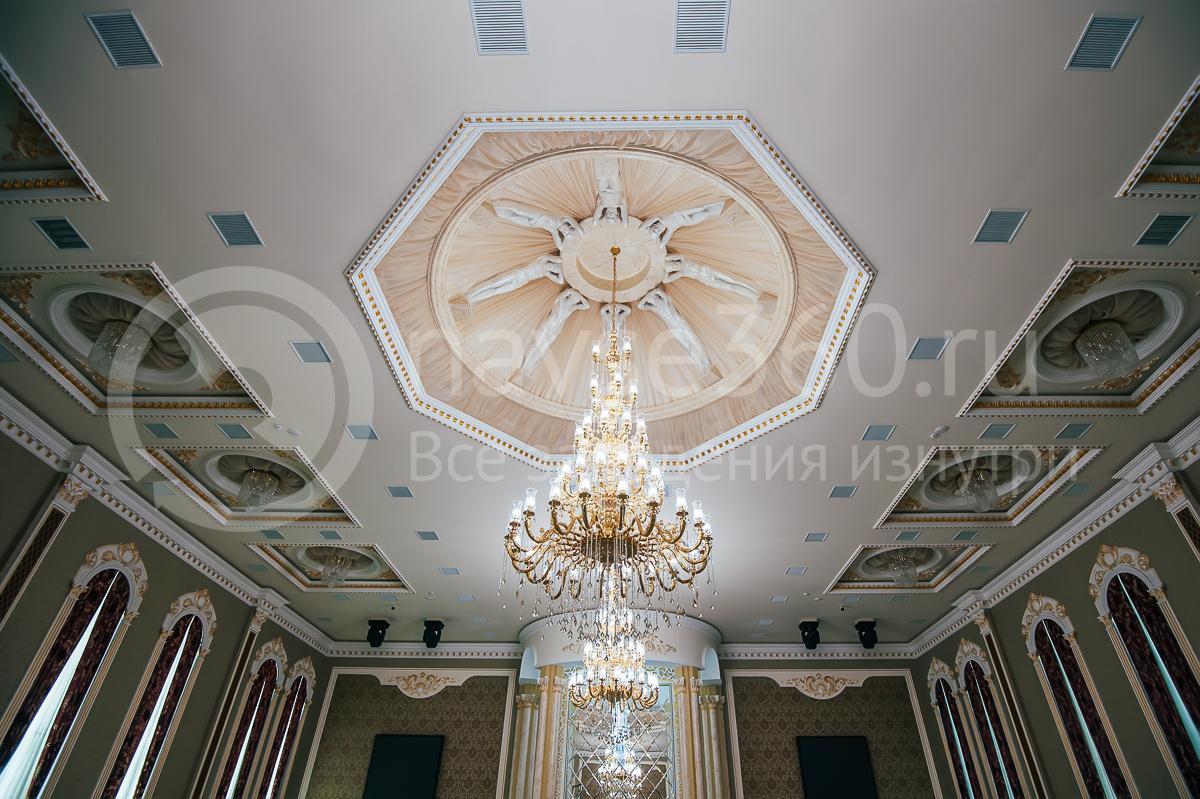 Ресторан, Банкетный зал, Опера палас, Краснодар, люстра