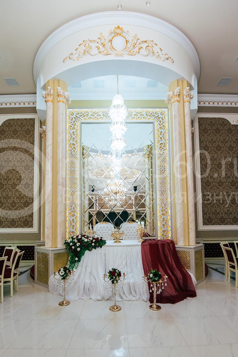 Ресторан, Банкетный зал, Опера палас, Краснодар, зал на 350 мест президиум