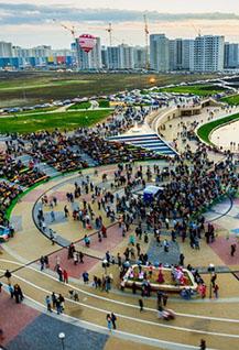 Празднование 10-летия Города Спутника
