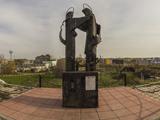Памятник Петру и Февронье на горе Шахан