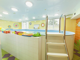 Солнечный, детский бассейн