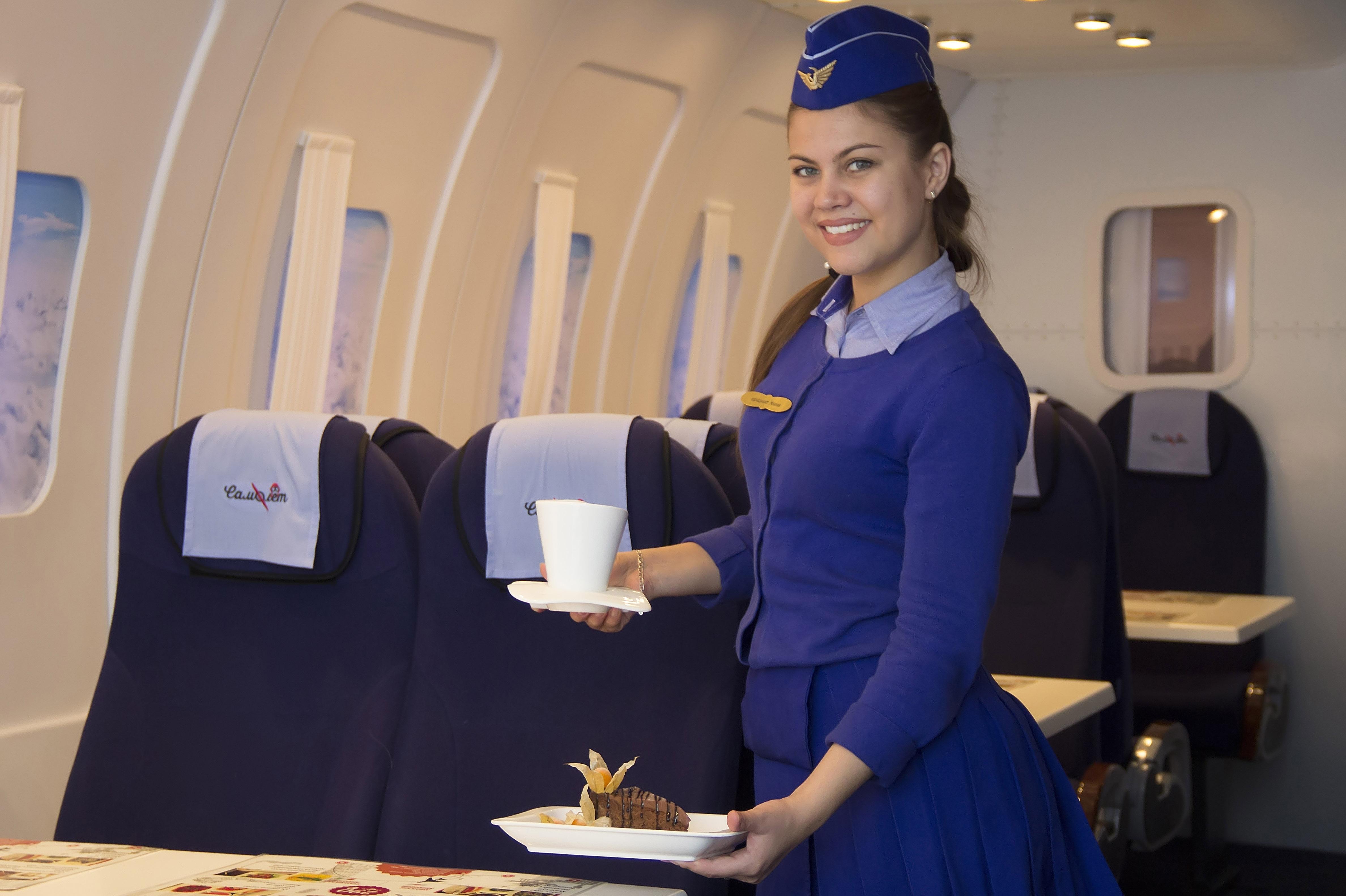 Кафе Самолет в Иркутске