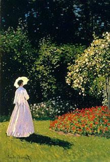 Мастер-класс по мотивам картины Клода Моне «Дама в саду Сент-Адресс»
