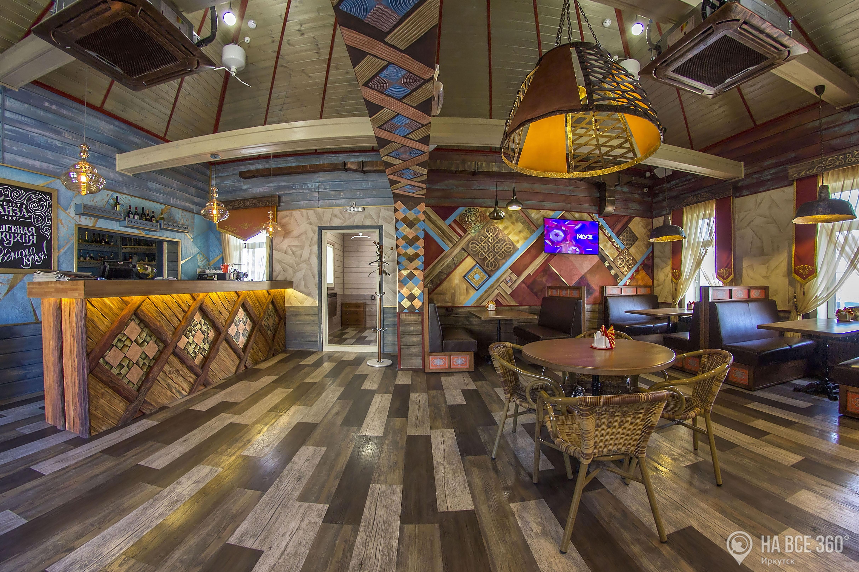 Ресторан с красивым интерьером