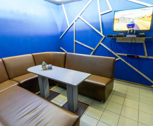 Метрополь Loungekzn, центр паровых коктейлей