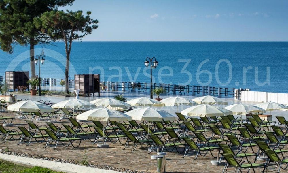 Санаторий Сочи с собственным пляжем Заполярье