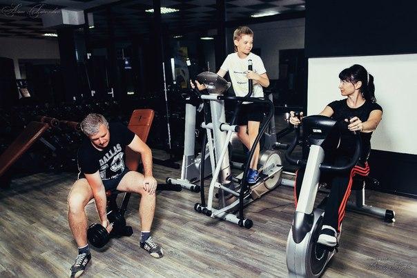Занятия всей семьей в фитнес-клубе Body Style