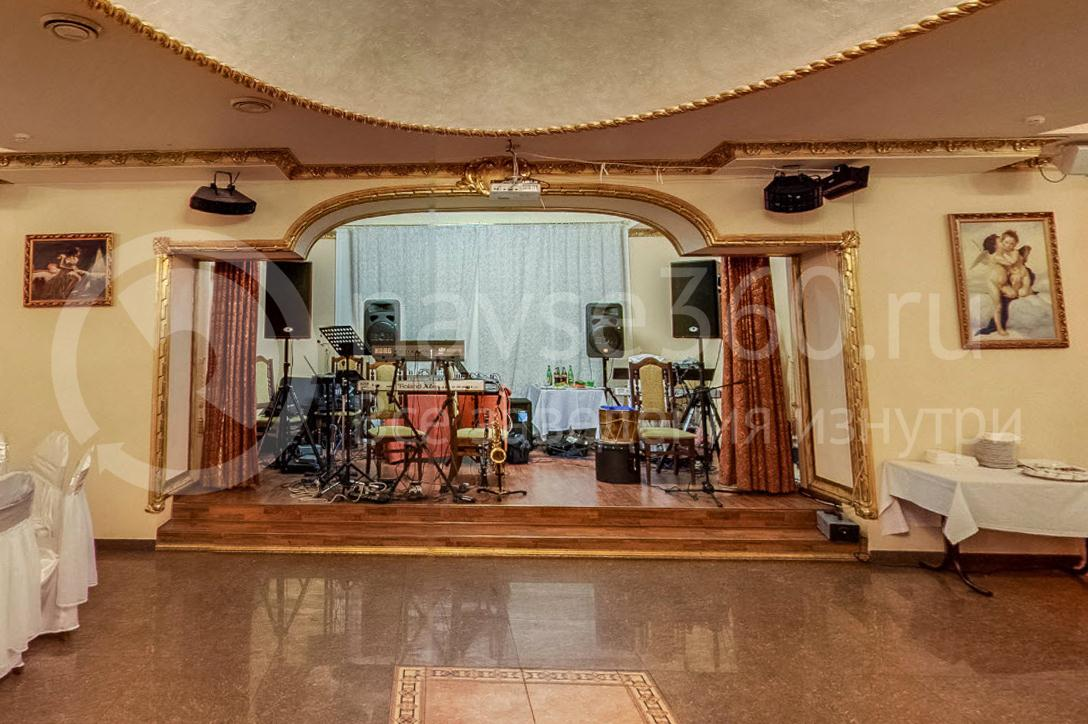 Банкетный зал Сенат, Краснодар, сцена, танцпол