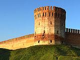 Восточный участок Смоленской крепостной стены