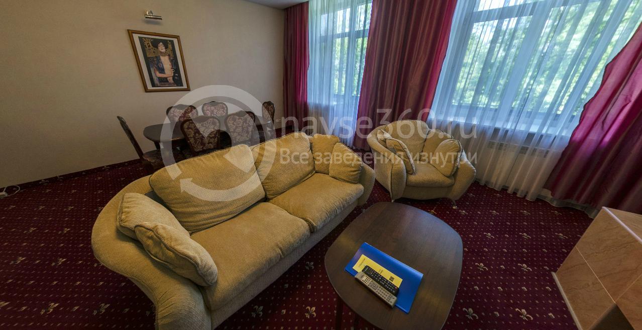 Президентский люкс пансионата Волга