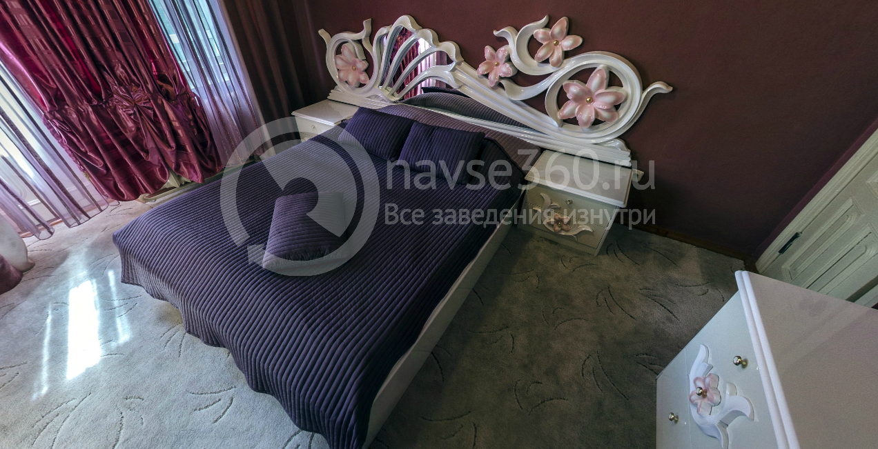 Спальня двухкомнатного номера Стригино
