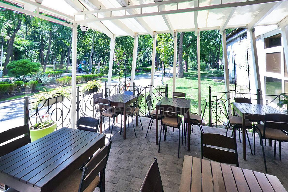 Терраса кафе Портал в Краснодаре