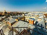 Панорама с видом Адмиралтейства и Исакиевского собора