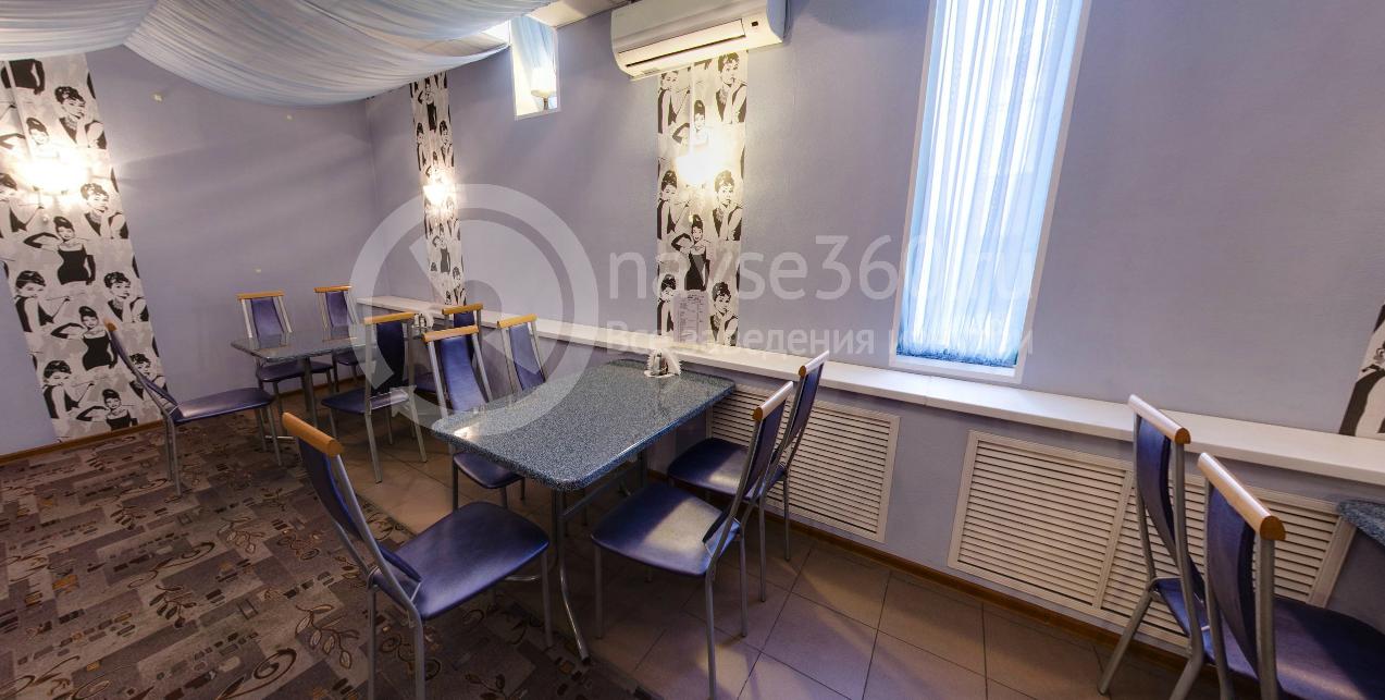 Банкетное оформление зала в кафе Мадам Брошкина