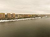 Река Волга с высоты птичьего полета