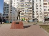 Памятник Ю.А. Гагарину на проспекте Королева