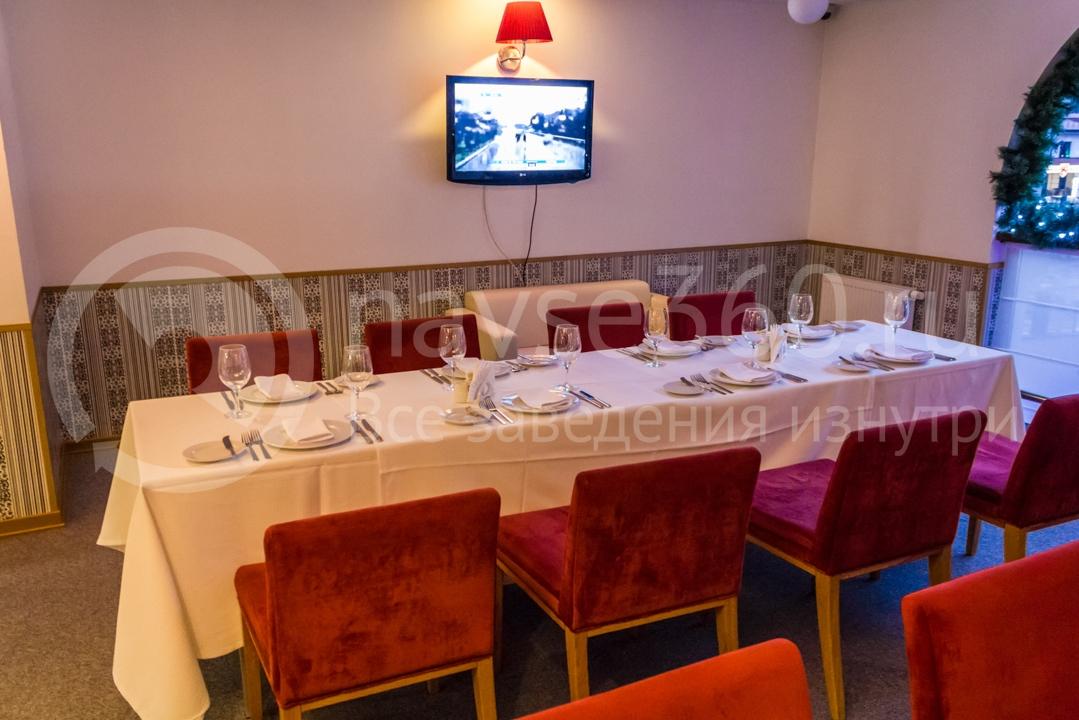 Ресторан в отеле Голден Тюлип Роза Хутор в Сочи
