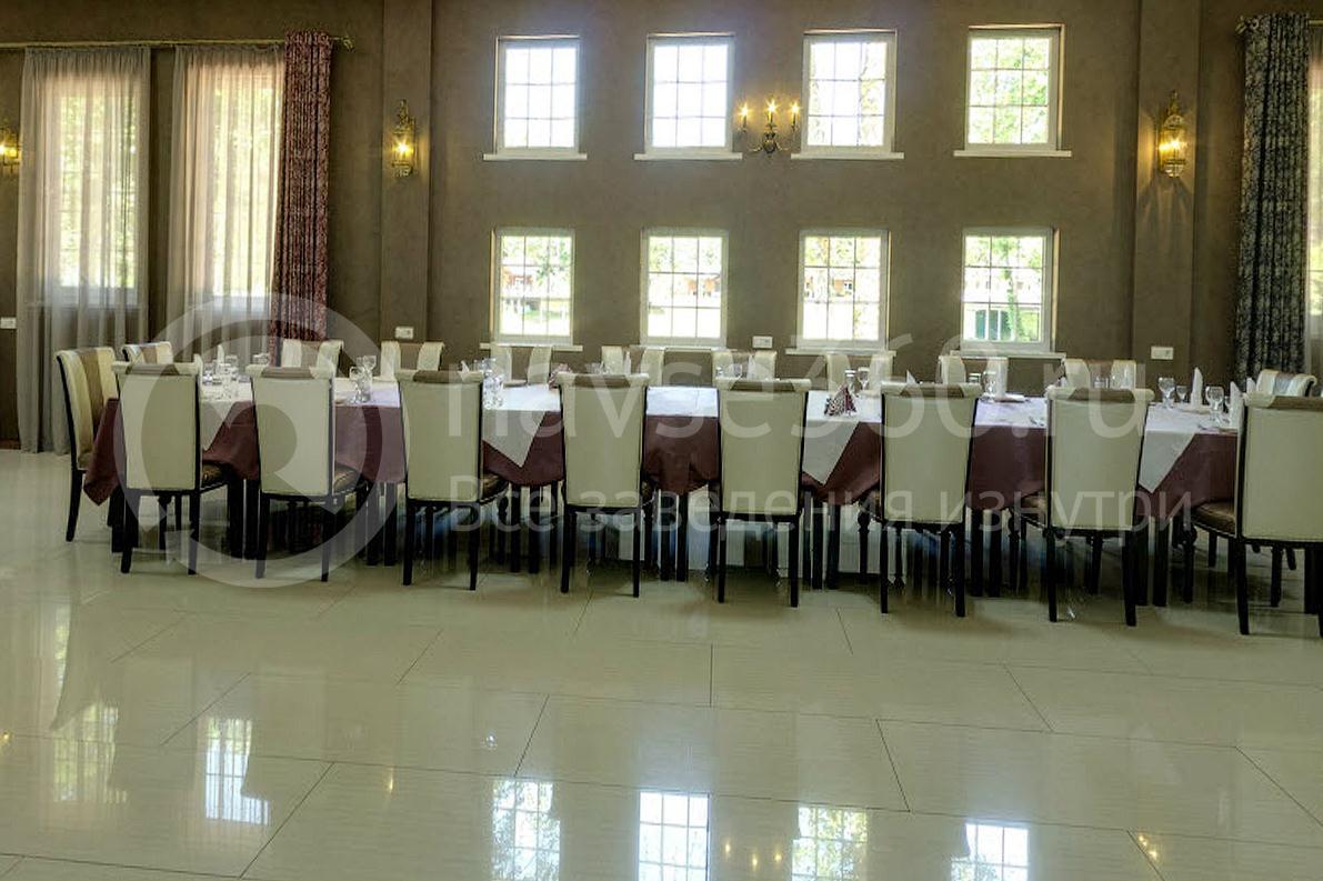 Клуб загооднего отдыха Комарово. Ресторан. Банкетный зал.