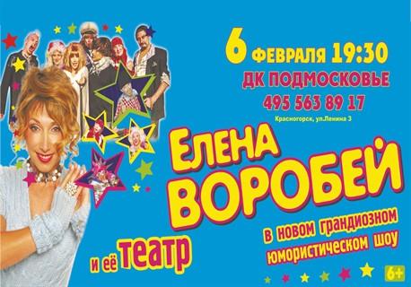 Концерт Елены Воробей